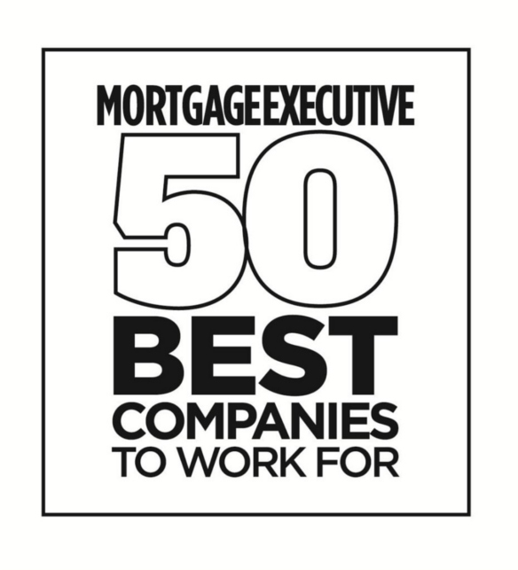 Mortgage Executive Magazine 50 Best Companies to Work For Logo